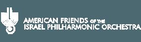 american friends of the israeli philharmonic white logo